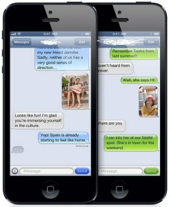 get someone's texts sent to your phone